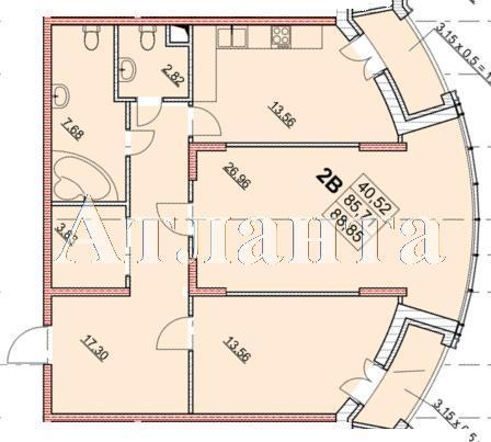 Продается 2-комнатная квартира в новострое на ул. Гагаринское Плато — 92 010 у.е. (фото №4)