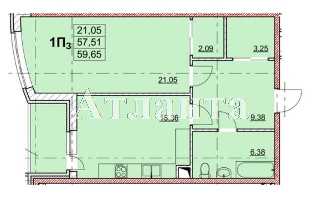 Продается 1-комнатная квартира в новострое на ул. Гагаринское Плато — 56 000 у.е.