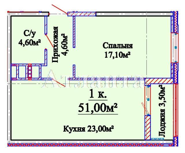 Продается 1-комнатная квартира в новострое на ул. Михайловская — 35 210 у.е. (фото №4)
