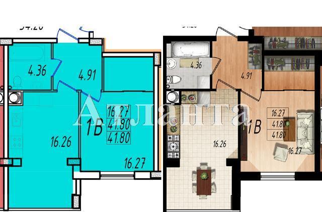 Продается 1-комнатная квартира в новострое на ул. Массив № 10 — 24 870 у.е.
