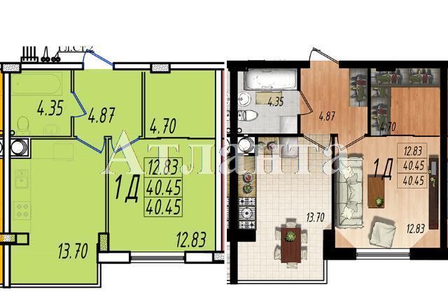 Продается 1-комнатная квартира в новострое на ул. Массив № 10 — 24 070 у.е.