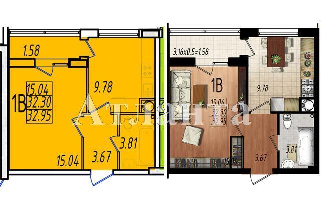 Продается 1-комнатная квартира в новострое на ул. Массив № 10 — 19 610 у.е.