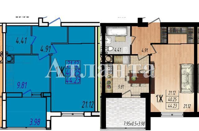 Продается 1-комнатная квартира в новострое на ул. Массив № 10 — 26 320 у.е.