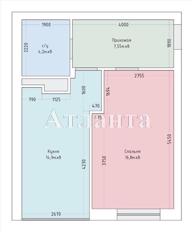 Продается 1-комнатная квартира в новострое на ул. Французский Бул. — 110 000 у.е. (фото №22)