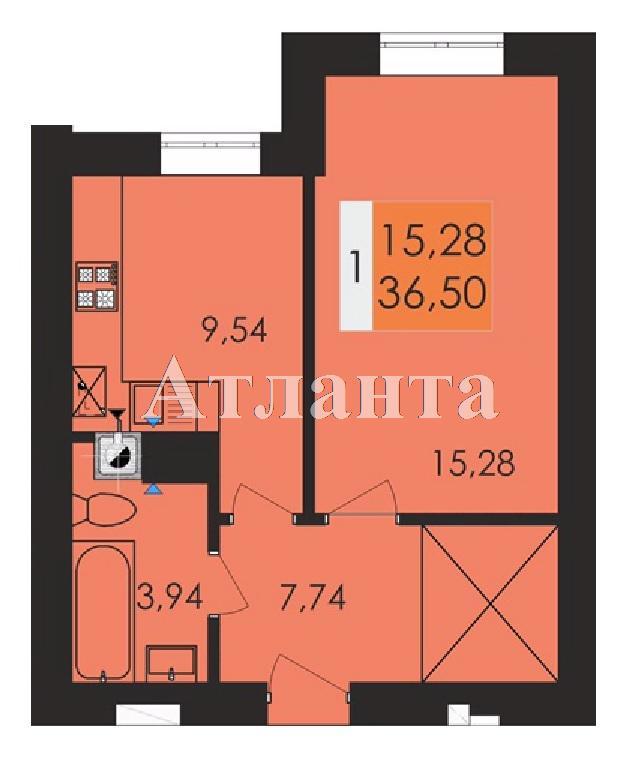 Продается 1-комнатная квартира в новострое на ул. Заболотного Ак. — 19 060 у.е.