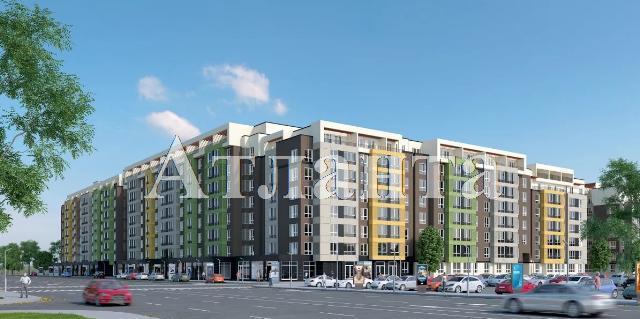 Продается 1-комнатная квартира в новострое на ул. Заболотного Ак. — 17 870 у.е. (фото №2)