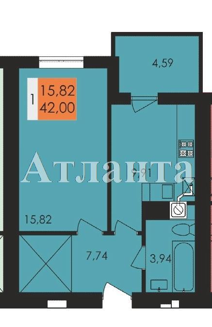 Продается 1-комнатная квартира в новострое на ул. Заболотного Ак. — 21 920 у.е.