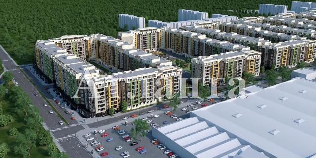 Продается 1-комнатная квартира в новострое на ул. Заболотного Ак. — 22 140 у.е. (фото №4)