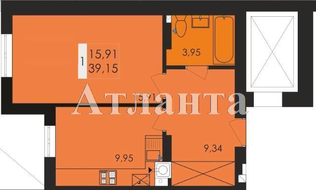 Продается 1-комнатная квартира в новострое на ул. Заболотного Ак. — 20 430 у.е.
