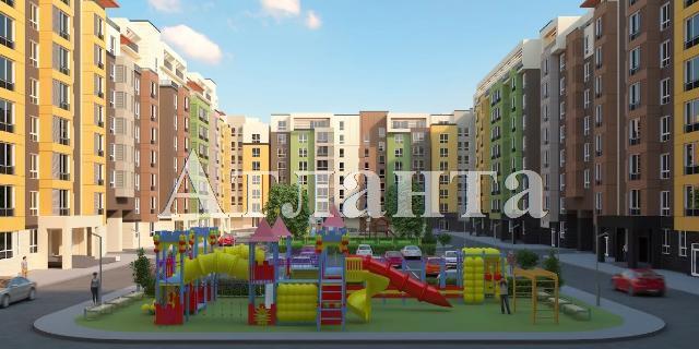 Продается 3-комнатная квартира в новострое на ул. Заболотного Ак. — 42 400 у.е. (фото №2)