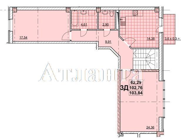 Продается Многоуровневая квартира в новострое на ул. Жаботинского — 86 470 у.е. (фото №2)