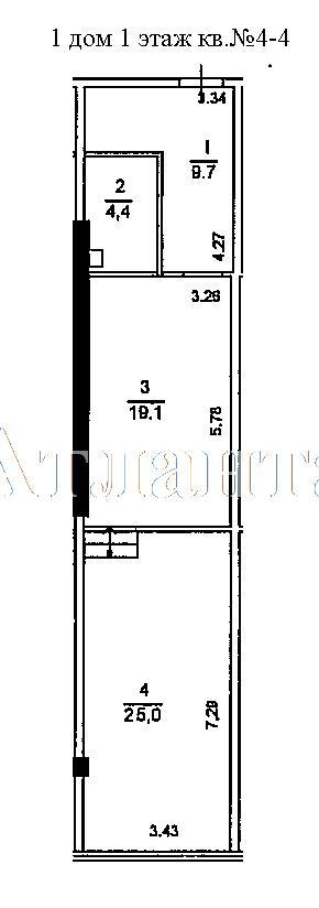 Продается 1-комнатная квартира в новострое на ул. Гагаринское Плато — 41 440 у.е.
