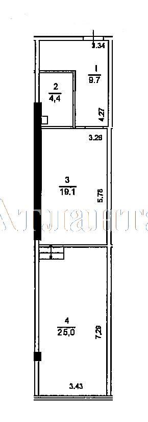 Продается 1-комнатная квартира в новострое на ул. Гагаринское Плато — 41 440 у.е. (фото №4)