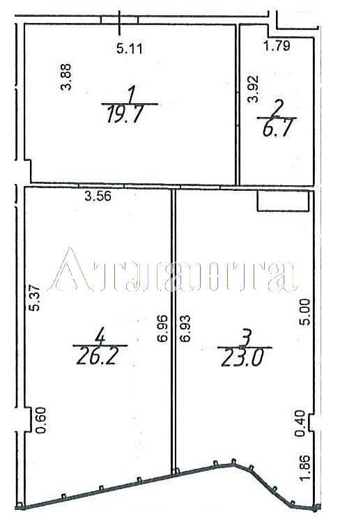 Продается 2-комнатная квартира в новострое на ул. Гагаринское Плато — 81 270 у.е.