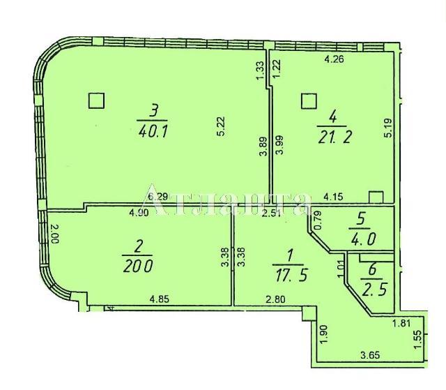Продается 2-комнатная квартира в новострое на ул. Гагаринское Плато — 97 110 у.е.