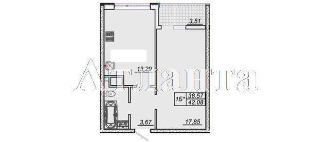 Продается 1-комнатная квартира в новострое на ул. Жм Дружный — 30 000 у.е. (фото №4)