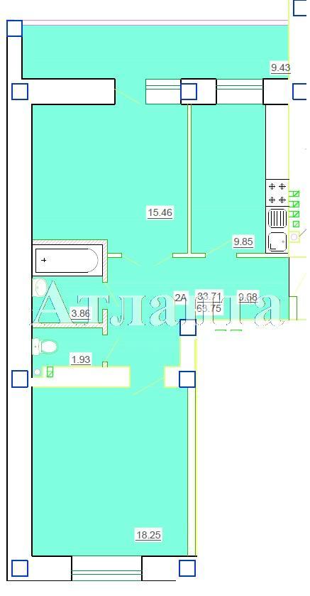 Продается 2-комнатная квартира в новострое на ул. Генерала Цветаева — 32 510 у.е. (фото №4)