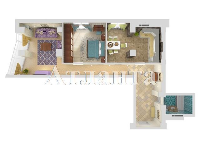 Продается 2-комнатная квартира в новострое на ул. Удельный Пер. — 85 730 у.е.