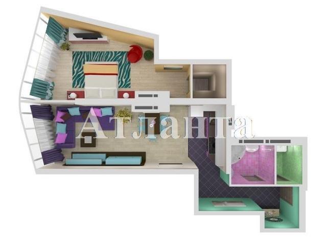 Продается 1-комнатная квартира в новострое на ул. Удельный Пер. — 92 770 у.е.