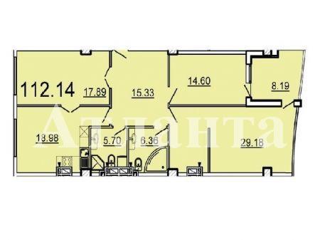 Продается 3-комнатная квартира в новострое на ул. Ванный Пер. — 151 390 у.е.