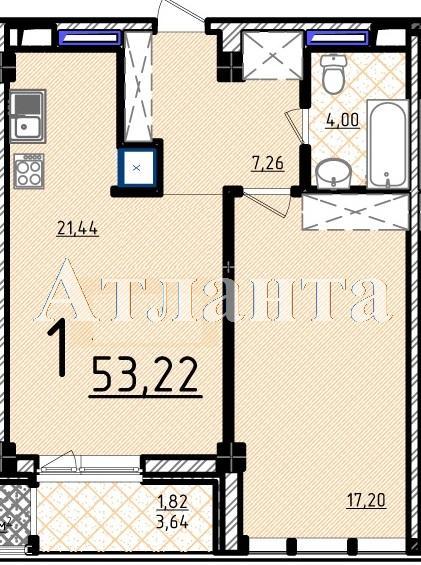 Продается 1-комнатная квартира в новострое на ул. Французский Бул. — 125 920 у.е.