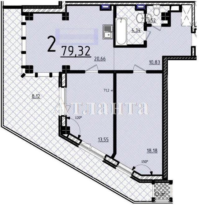 Продается 2-комнатная квартира в новострое на ул. Французский Бул. — 178 000 у.е.
