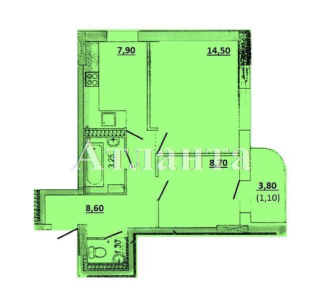 Продается 2-комнатная квартира в новострое на ул. Торговая — 35 000 у.е. (фото №7)