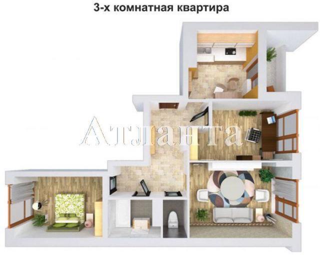 Продается 3-комнатная квартира в новострое на ул. 1 Мая — 46 590 у.е.