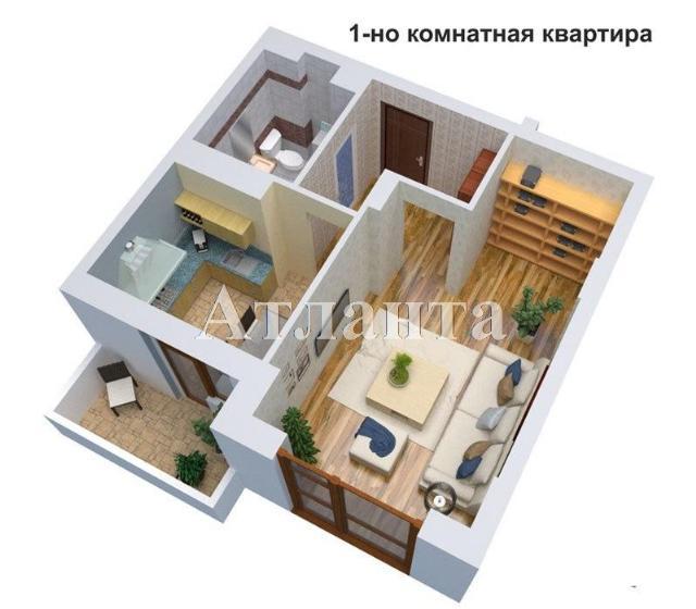 Продается 1-комнатная квартира в новострое на ул. 1 Мая — 22 280 у.е.