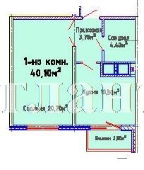 Продается 1-комнатная квартира в новострое на ул. Люстдорфская Дорога — 31 930 у.е.