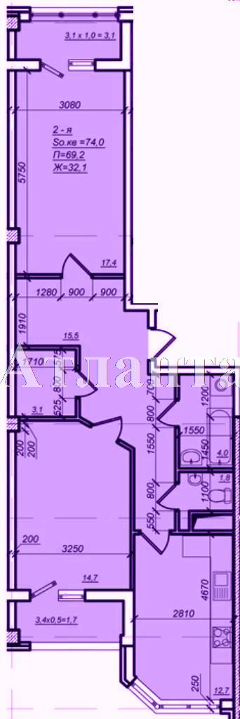 Продается 2-комнатная квартира в новострое на ул. Дюковская — 53 150 у.е.