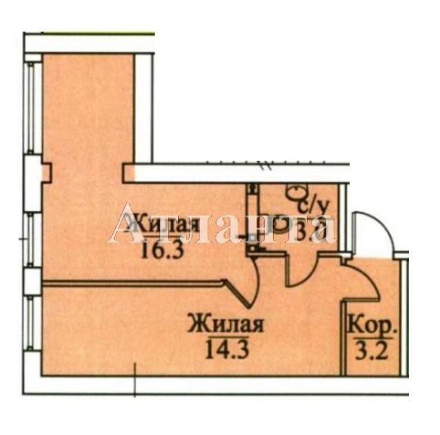 Продается 2-комнатная квартира в новострое на ул. Болгарская — 31 280 у.е.