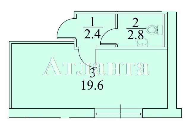 Продается 1-комнатная квартира в новострое на ул. Болгарская — 20 000 у.е. (фото №3)