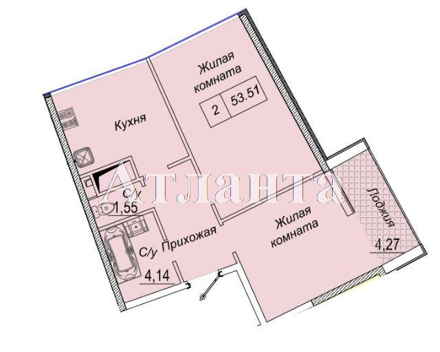 Продается 2-комнатная квартира в новострое на ул. Каманина — 44 360 у.е.
