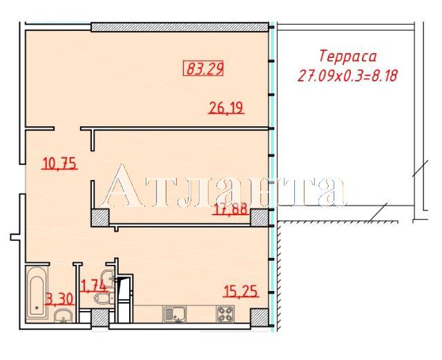 Продается 2-комнатная квартира в новострое на ул. Большая Арнаутская — 92 280 у.е. (фото №2)