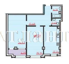 Продается 2-комнатная квартира в новострое на ул. Большая Арнаутская — 99 090 у.е.