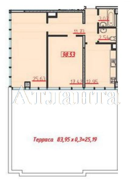 Продается 2-комнатная квартира в новострое на ул. Большая Арнаутская — 111 000 у.е.