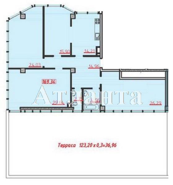 Продается 3-комнатная квартира в новострое на ул. Большая Арнаутская — 209 390 у.е. (фото №3)