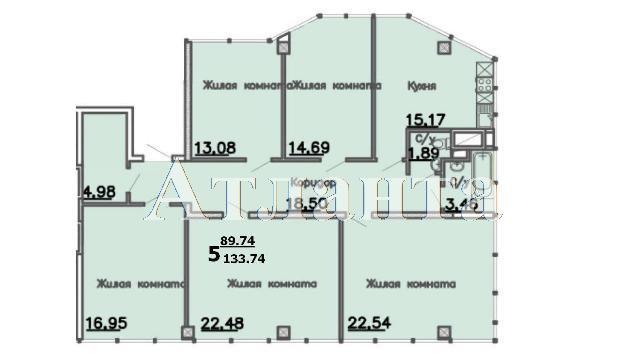 Продается 5-комнатная квартира в новострое на ул. Большая Арнаутская — 170 220 у.е.
