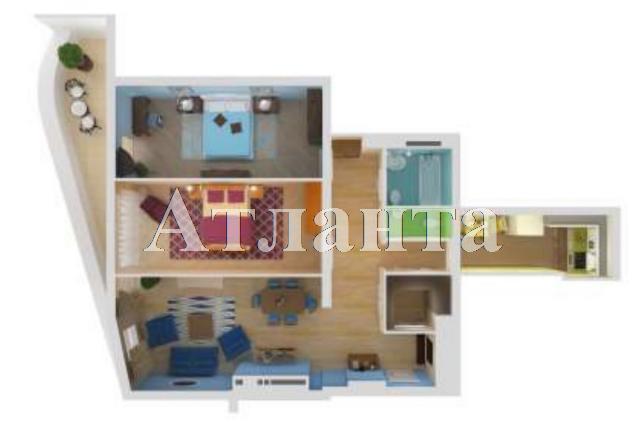 Продается 2-комнатная квартира в новострое на ул. Удельный Пер. — 136 240 у.е.