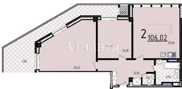 Продается 2-комнатная квартира в новострое на ул. Французский Бул. — 196 300 у.е.