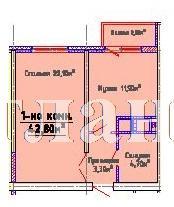 Продается 1-комнатная квартира в новострое на ул. Люстдорфская Дорога — 31 000 у.е.