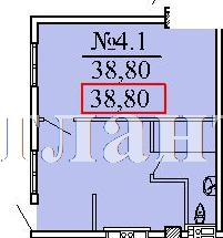 Продается 1-комнатная квартира в новострое на ул. Ванный Пер. — 40 000 у.е. (фото №9)