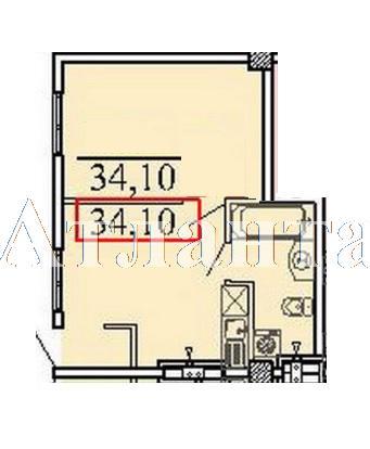 Продается 1-комнатная квартира в новострое на ул. Ванный Пер. — 39 000 у.е. (фото №8)
