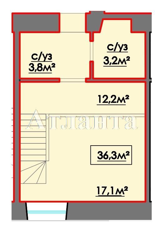Продается Многоуровневая квартира на ул. 10 Апреля — 28 160 у.е.