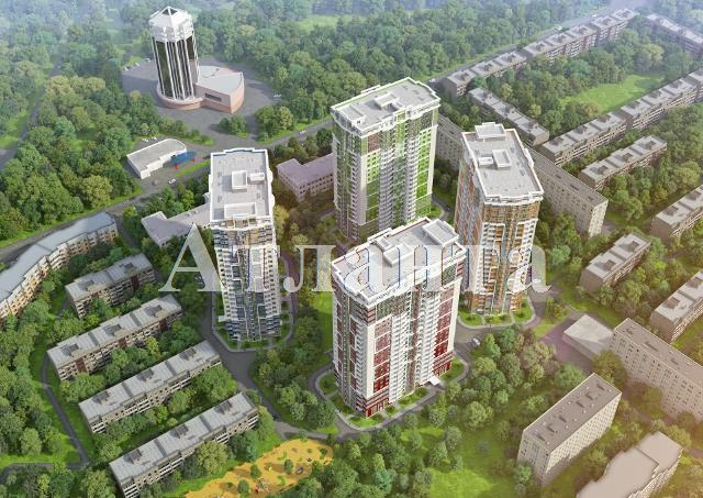 Продается 2-комнатная квартира в новострое на ул. Гагарина Пр. — 57 750 у.е. (фото №2)