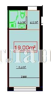 Продается 1-комнатная квартира на ул. Центральная — 16 730 у.е.