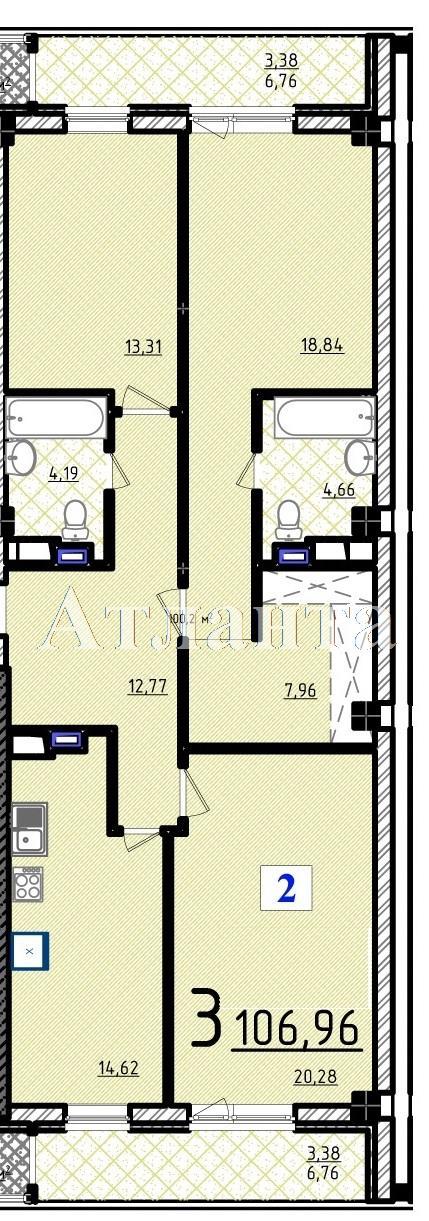 Продается 3-комнатная квартира в новострое на ул. Французский Бул. — 140 530 у.е.