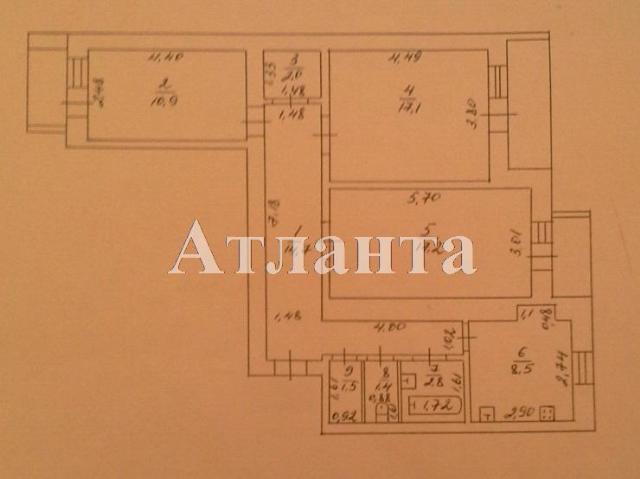 Продается 3-комнатная квартира в новострое на ул. Мельницкая — 58 000 у.е. (фото №11)