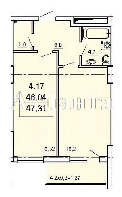 Продается 1-комнатная квартира в новострое на ул. Педагогическая — 37 980 у.е.